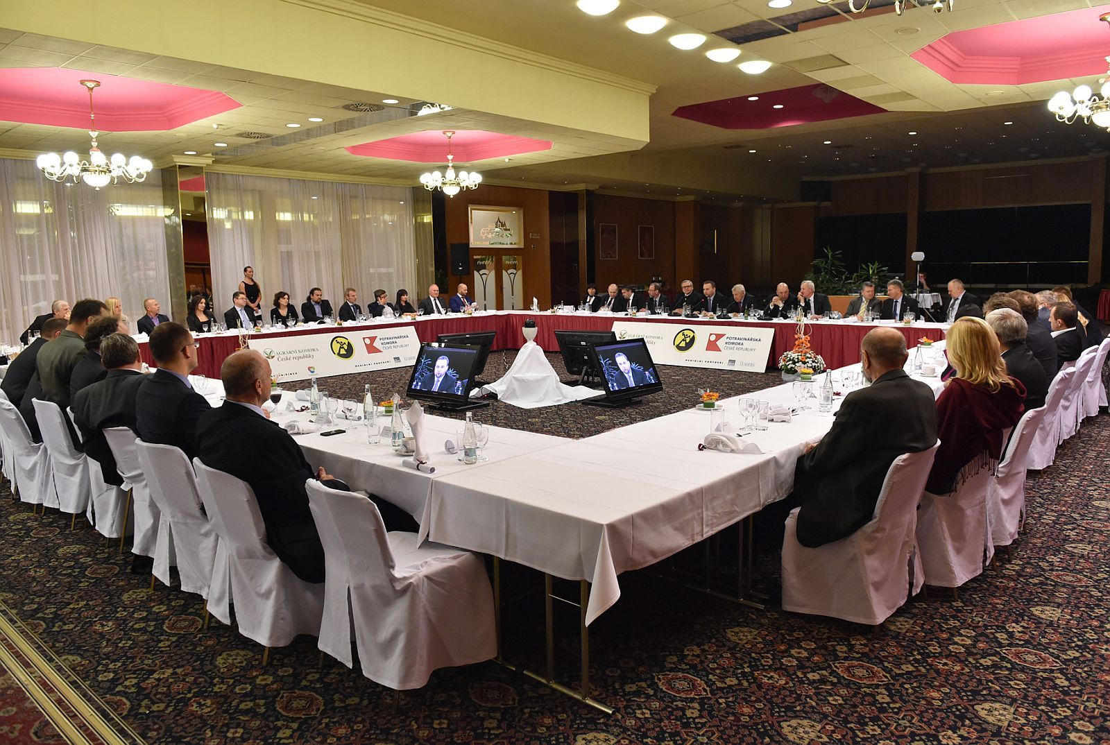 The round table of comenius with the minister of for Hotel top praga